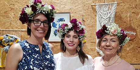 Mothers Day - Flower Crown Making Workshop tickets