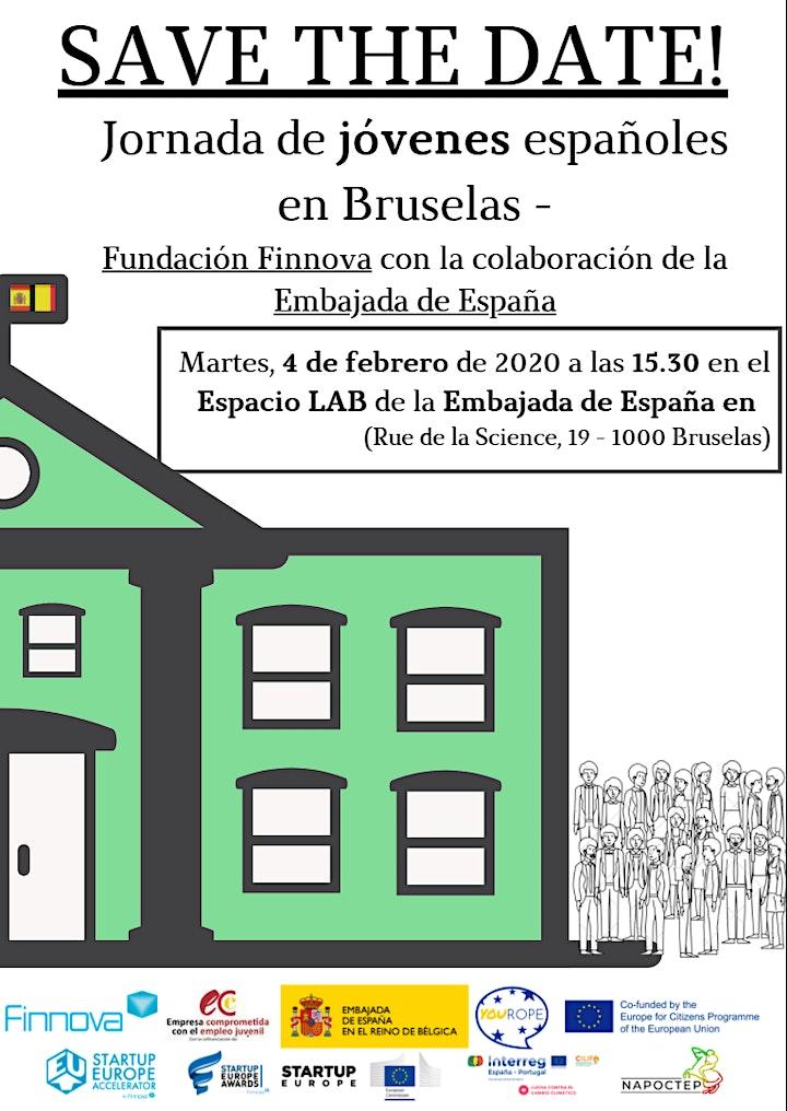 Imagen de Jornada Jóvenes españoles en Bruselas: FORMACIÓN, EMPLEO Y EMPRENDIMIENTO