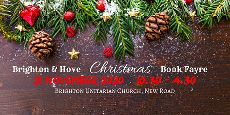 Brighton & Hove Christmas Book Fayre tickets