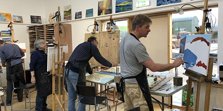 Painting & Drawing workshop - introduction to oil painting with Ewen Duncan tickets