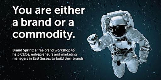 Brand Sprint: a free brand workshop - Hastings