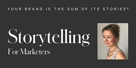 Storytelling For Marketers tickets