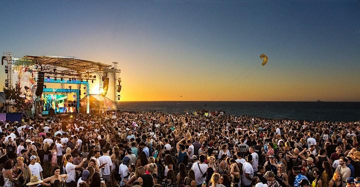Fisher Australian Beach Party Tour | Catani Gardens, St Kilda image