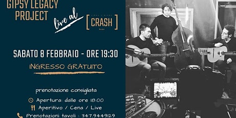 Jazz Do It // Gipsy Legacy Project live al Crash Roma biglietti