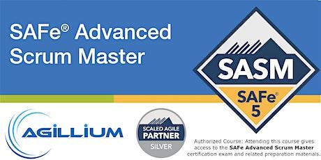 SAFe® Advanced Scrum Master Weekend Certification Workshop 5.0, Philadelphia, PA tickets