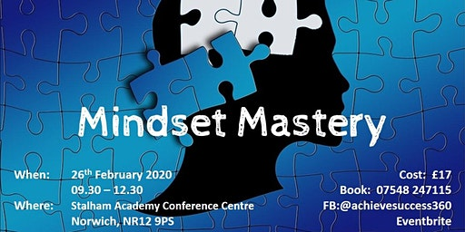 Mindset Mastery 2020 - The Year of Vision