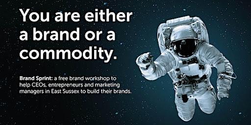 Brand Sprint: a free brand workshop - Eastbourne