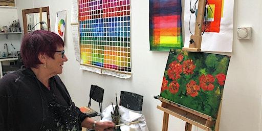 Painting & Drawing workshop - flowers - with Ewen Duncan
