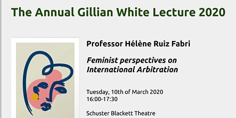 Gillian White Lecture: Feminist perspectives on International Arbitration tickets