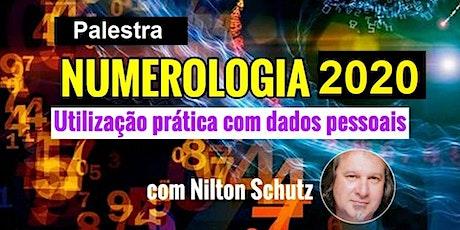 Palestra Numerologia 2020 – Nilton Schutz ingressos