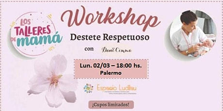 2° Workshop Destete Respetuoso @lostalleresdemama @danicimma_lactancia entradas
