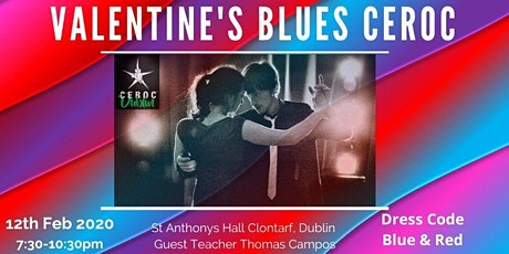 Valentines Blues/Ceroc Combo Wednesday Party Clontarf tickets