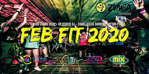 Feb Fit 2020 with Top End Zumba Crew and Mix 104.9