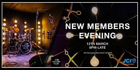 New Members Evening tickets