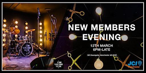 New Members Evening