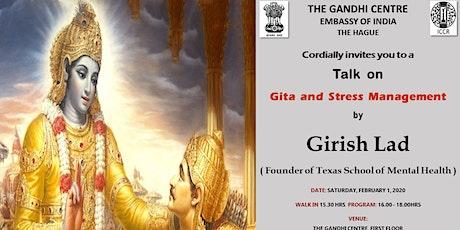 Talk on Gita and Stress Management tickets