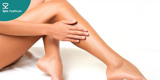Free mini consultations for varicose and thread veins with Mr Vetrivel