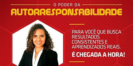 """TREINAMENTO """"O PODER DA AUTORRESPONSABILIDADE"""" EM BACABAL (2) ingressos"""