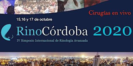 RinoCórdoba 2020: IV Simposio Internacional de Rinología Avanzada entradas
