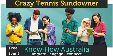 Crazy Tennis Sundowner in the City tickets