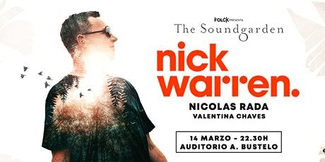 The Soundgarden: NICK WARREN entradas