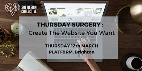 Thursday Surgery - Create the Website you Want! tickets