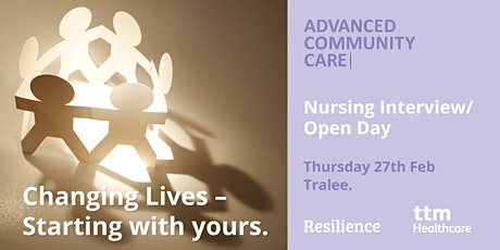 Advanced Community Care Nursing Open Day tickets