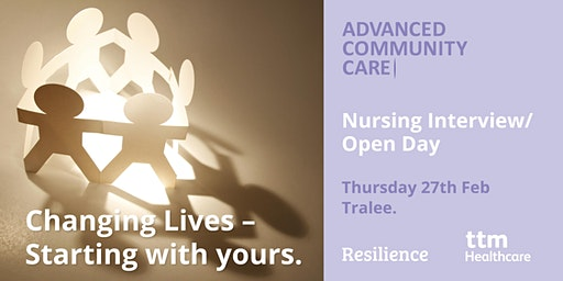 Advanced Community Care Nursing Open Day