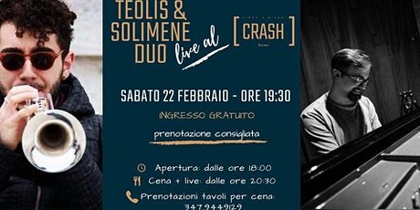 Jazz Do It // Teolis & Solimene Duo live al Crash Roma biglietti