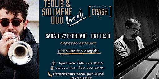 Jazz Do It // Teolis & Solimene Duo live al Crash Roma