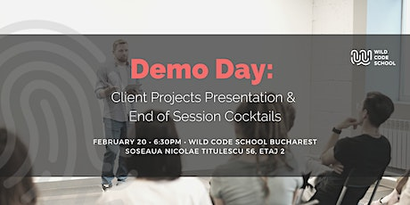 Wild Code School - End of Session #1 Demo Day, Nibbles & Drinks tickets
