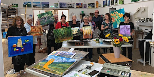 5-day Drawing & Painting Week, 13-17 July 2020, 10-4pm