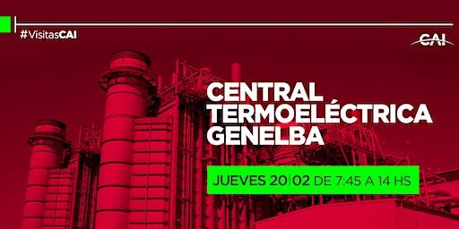 Visita a la Planta Termoeléctrica Genelba.