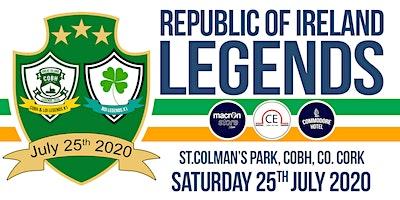 Repulic of Ireland Legends v Cobh Ramblers/LOI/Guests Select X1