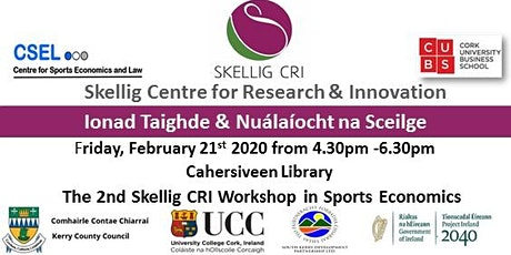 2nd SkelligCRI Sports Economics Workshop tickets