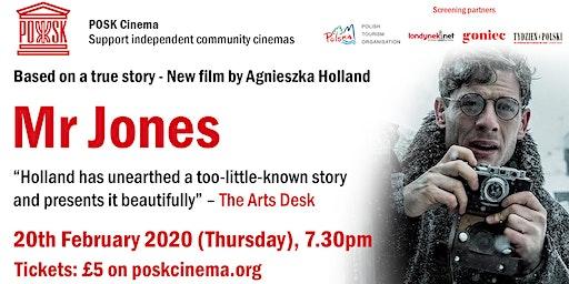 POSK Cinema #10: Mr Jones - Thursday, 20th February, 7.30pm