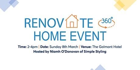 Renovate360 Home Event tickets