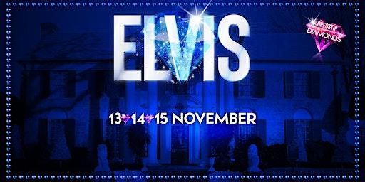 Elvis tribute in Wageningen (Gelderland) 14-11-2020