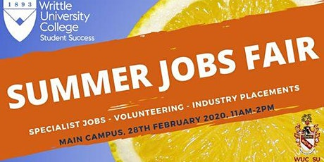 Summer  Jobs and Placements Fair tickets