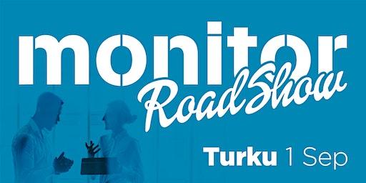 Monitor Roadshow Finland – Turku 1/9