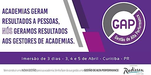 GAP - GF   Gestão de Alta Performance Curitiba - 3, 4 e 5 de Abril
