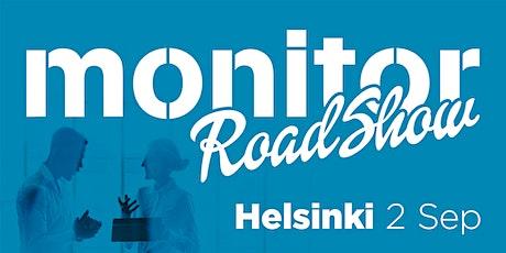 Monitor Roadshow Finland – Helsinki 2/9 tickets