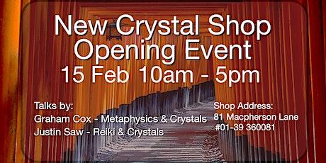 New Crystal Specimen Shop - Open House tickets