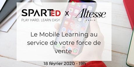 {REX} : Le Mobile Learning au Service de votre force de vente tickets