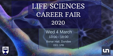 University of Dundee Life Sciences Careers Fair tickets