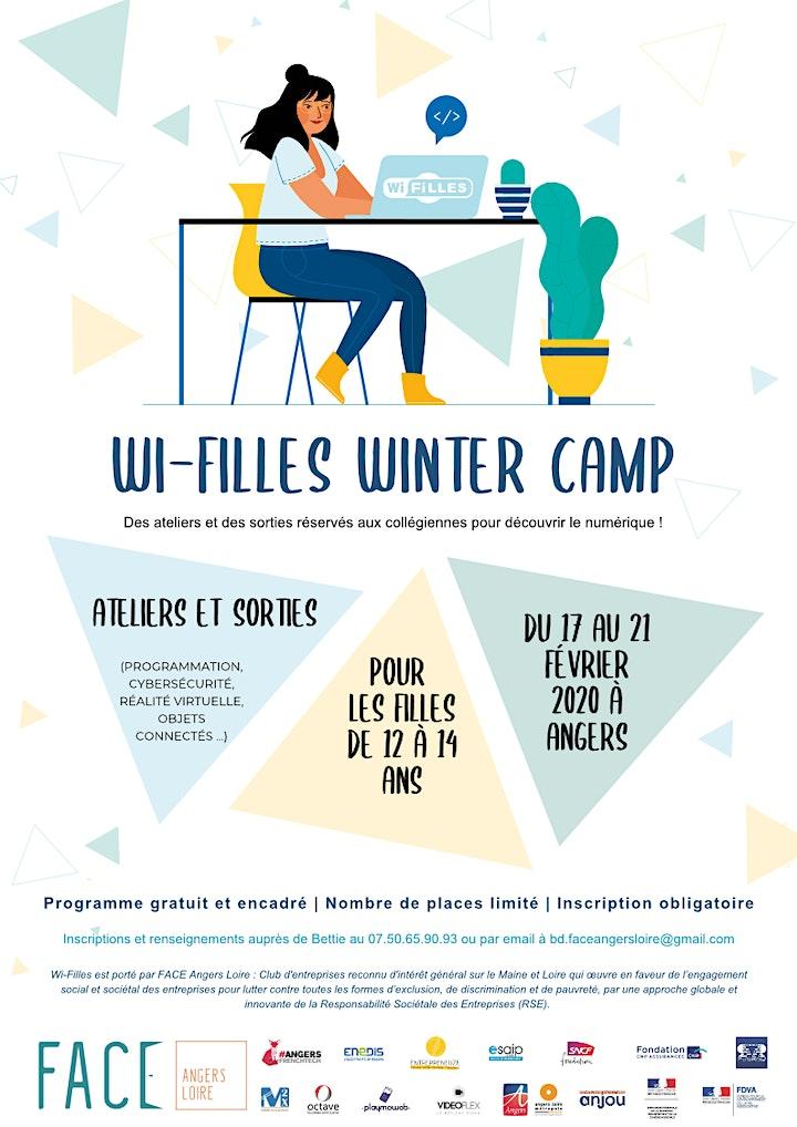 Image pour Wi-Filles Winter Camp, Ateliers numériques dédiés aux filles à Angers