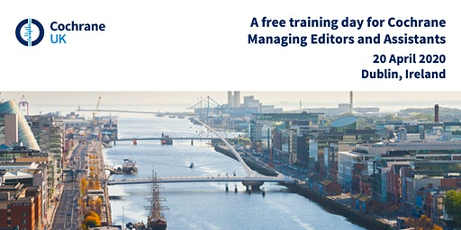 Free training day for Cochrane Managing Editors and Assistants
