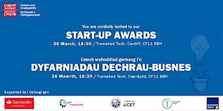 Cardiff University Student Start-up Awards 2020 tickets