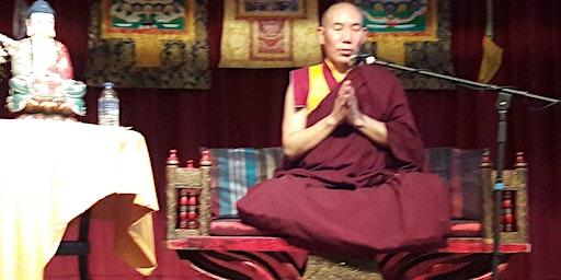 Chamtrul Rinpoche Buddhist retreat