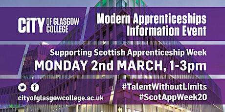 Modern Apprenticeship Information Event tickets